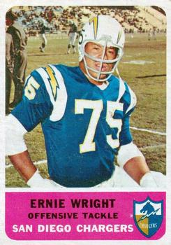1962 Fleer #83 Ernie Wright