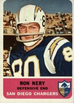 1962 Fleer #88 Ron Nery