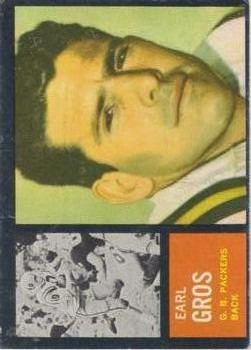 1962 Topps #74 Earl Gros SP RC