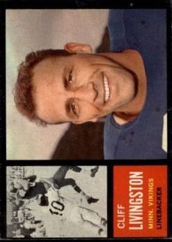 1962 Topps #99 Cliff Livingston SP RC