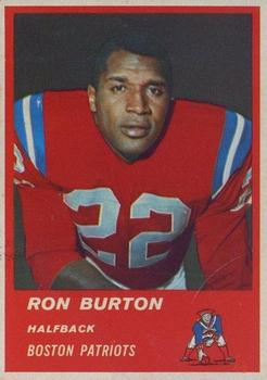 1963 Fleer #3 Ron Burton