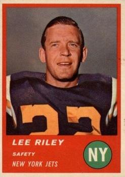 1963 Fleer #19 Lee Riley