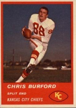 1963 Fleer #49 Chris Burford