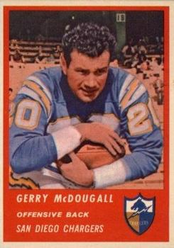 1963 Fleer #67 Gerry McDougall RC
