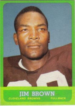 1963 Topps #14 Jim Brown SP