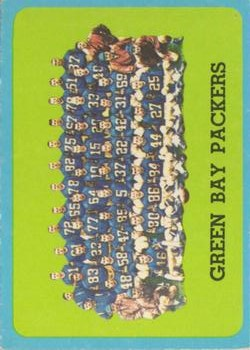 1963 Topps #97 Green Bay Packers