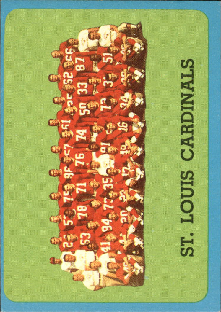 1963 Topps #157 St. Louis Cardinals SP