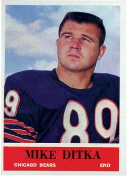 1964 Philadelphia #17 Mike Ditka
