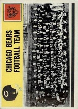 1964 Philadelphia #27 Chicago Bears