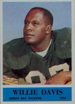 1964 Philadelphia #72 Willie Davis RC