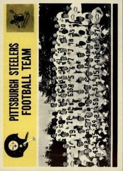 1964 Philadelphia #153 Pittsburgh Steelers