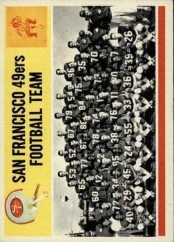 1964 Philadelphia #167 San Francisco 49ers