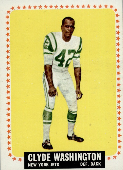 1964 Topps #129 Clyde Washington RC
