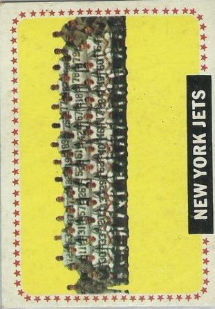 1964 Topps #131 New York Jets