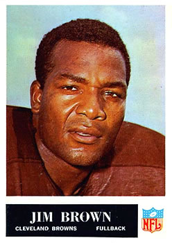 1965 Philadelphia #31 Jim Brown