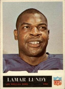1965 Philadelphia #90 Lamar Lundy RC