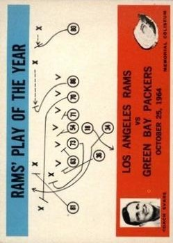 1965 Philadelphia #98 Los Angeles Rams