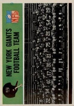1965 Philadelphia #113 New York Giants