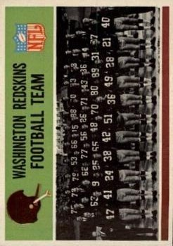 1965 Philadelphia #183 Washington Redskins