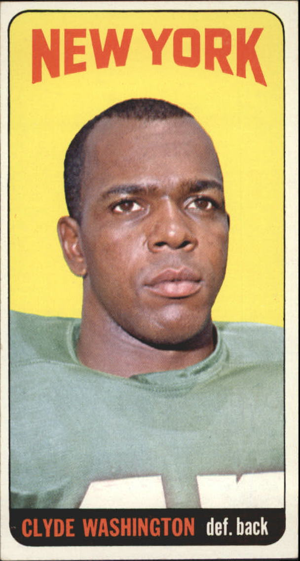1965 Topps #130 Clyde Washington SP
