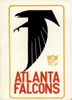 1966 Philadelphia #1 Atlanta Falcons Logo