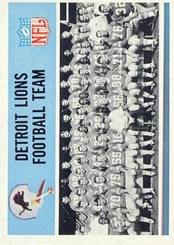1966 Philadelphia #66 Detroit Lions Team