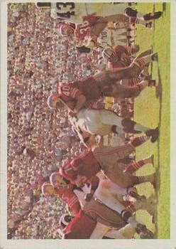 1966 Philadelphia #182 San Francisco 49ers Play
