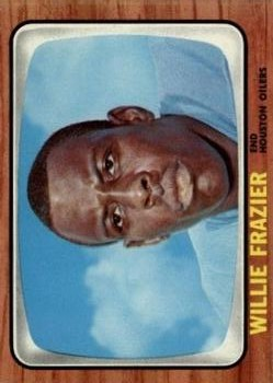 1966 Topps #55 Willie Frazier RC