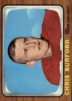 1966 Topps #66 Chris Burford