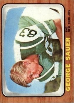 1966 Topps #101 George Sauer Jr. RC