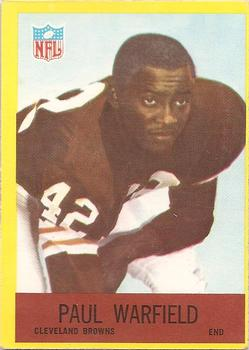 1967 Philadelphia #46 Paul Warfield