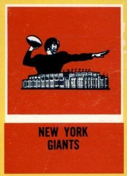 1967 Philadelphia #120 New York Giants