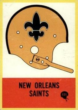 1967 Philadelphia #121 Saints Insignia