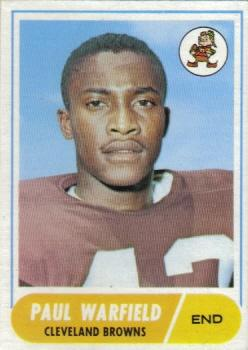 1968 Topps #49 Paul Warfield