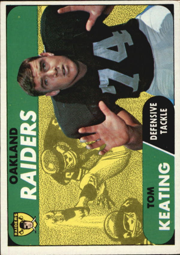 1968 Topps #116 Tom Keating
