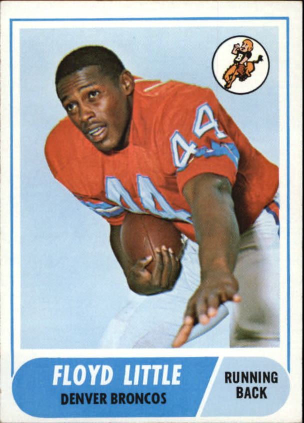 1968 Topps #173 Floyd Little RC front image