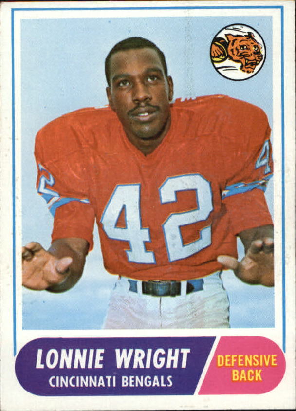 1968 Topps #174 Lonnie Wright RC