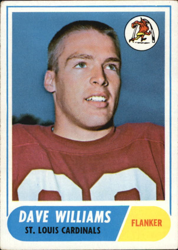 1968 Topps #218 Dave Williams RC