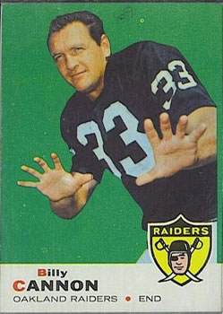 1969 Topps #68 Billy Cannon