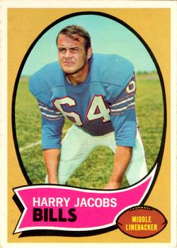 1970 Topps #13 Harry Jacobs