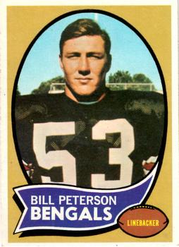 1970 Topps #16 Bill Peterson RC
