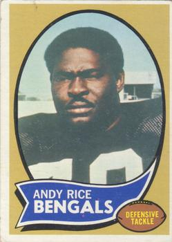 1970 Topps #42 Andy Rice RC