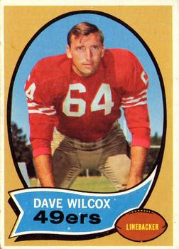 1970 Topps #57 Dave Wilcox