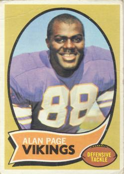 1970 Topps #59 Alan Page RC