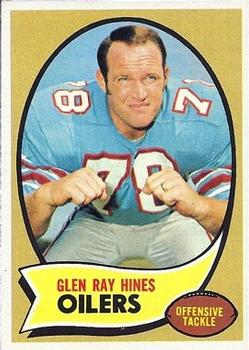 1970 Topps #61 Glen Ray Hines RC