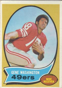 1970 Topps #81 Gene Washington 49er RC