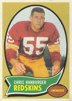 1970 Topps #93 Chris Hanburger