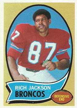 1970 Topps #95 Rich Jackson RC