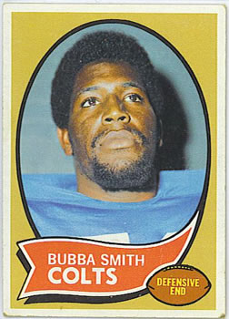 1970 Topps #114 Bubba Smith RC