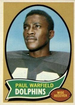 1970 Topps #135 Paul Warfield